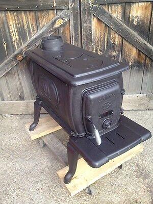 Logwood Brand Since 1889 Woodstove Cast Iron Recent Model Wood Or Coal Stove