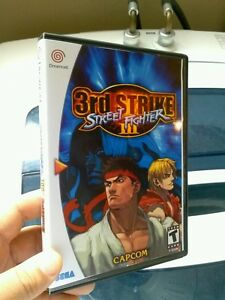 DREAMCAST STREET FIGHTER 3RD STRIKE CUSTOM GAME CASE