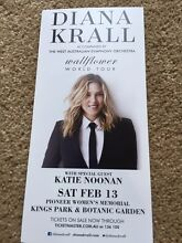 Amazing Diana krall tickets! Dianella Stirling Area Preview