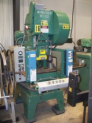 9478 Minster Mechanical Press- Fabrication Equipment 131-22 14022 Used