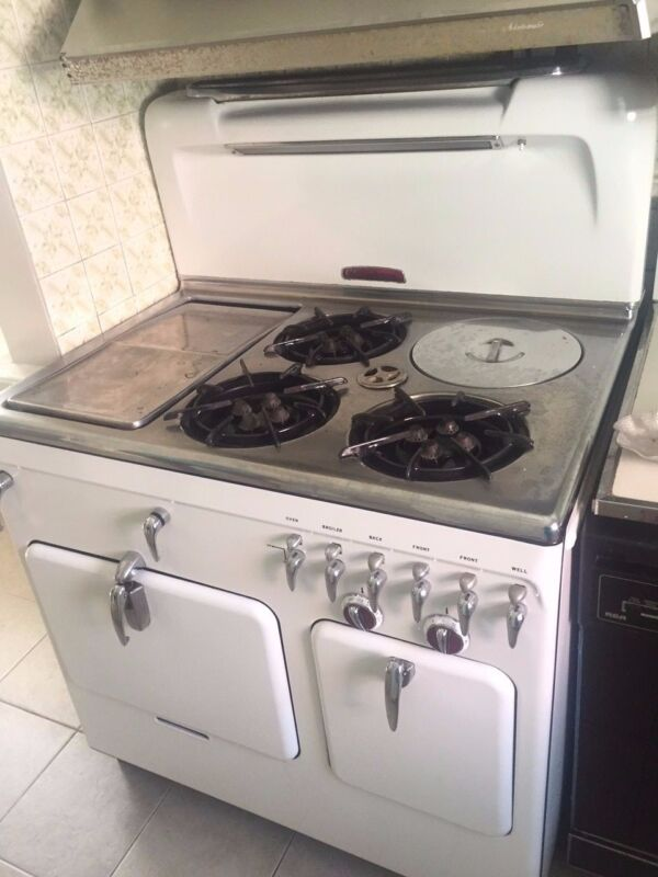 1950s Chambers Stove Model C - Working Condition - Pick Up Only