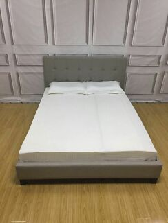 Brand New 9025 Cream-Coloured Bed Frame