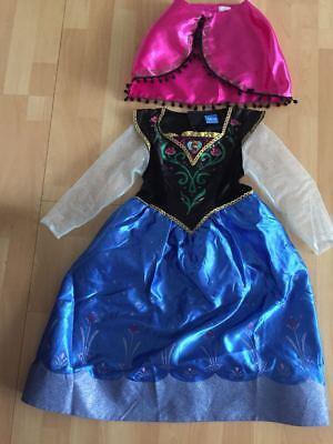 Frozen Die Eiskönigin Deluxe Anna Kostüm für Kinder  ()