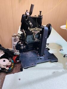 Union special 43800 2 needle chain stitch machine