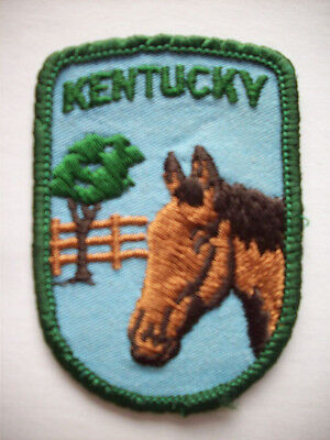 Horse Kentucky KY embroidered patch
