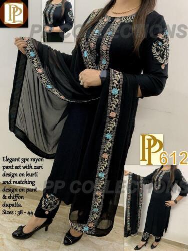 Pakistani Designer Weeding Salwar Kameez Stylish Dupatta Beautiful Palazzo Kurta