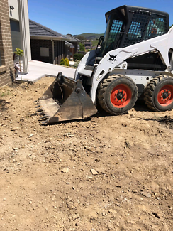 concrete removal  , rubbish removal  , site clean , landscape ma