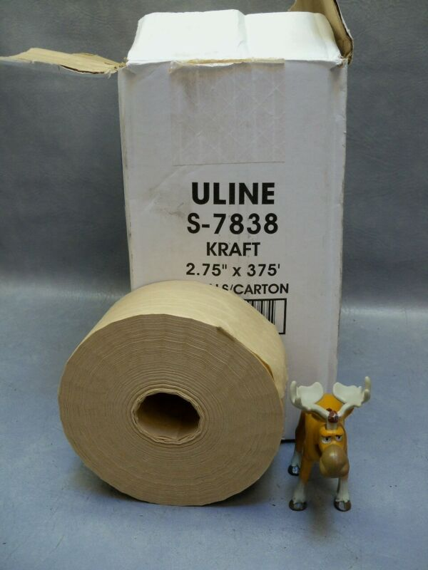 """Water Activated Reinforced Kraft Tape 2.75"""" x 375"""