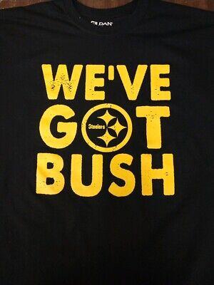 Pittsburgh Steelers Devin Bush T-shirt WE