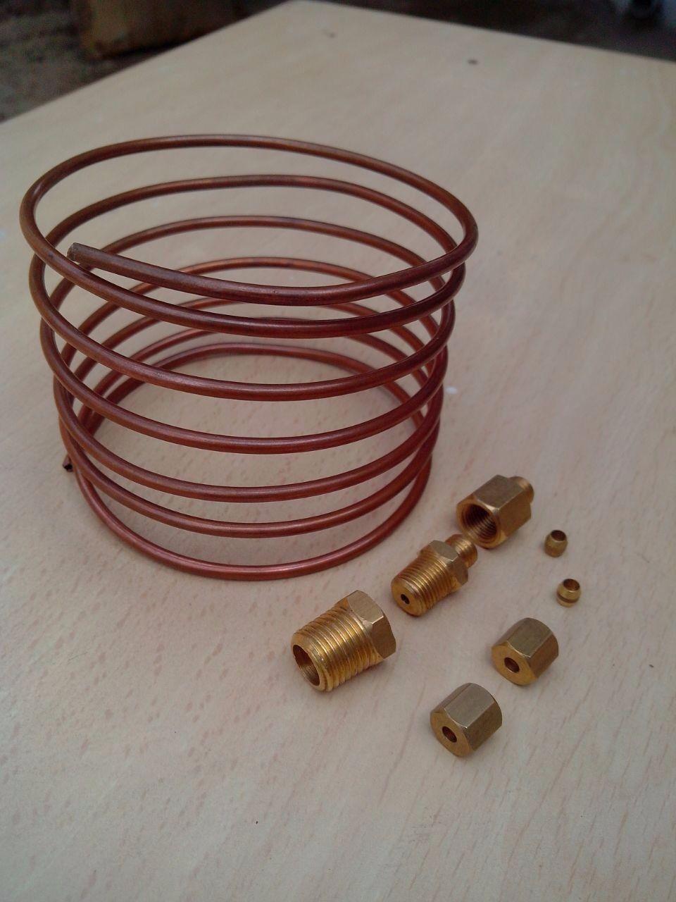 """6 ft Oil Line kit for Oil pressure gauge male thread 1/8"""""""