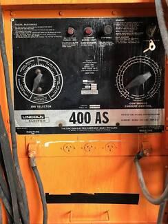 LINCOLN 400AS Diesel Heavy Duty Generator / Welder