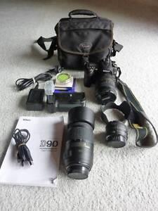 Nikon D90 digital SLR Corlette Port Stephens Area Preview