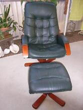 Two Italian Recliners,Leather.   Silkstone Silkstone Ipswich City Preview