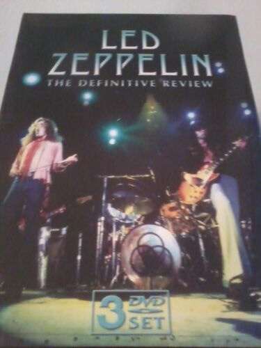 LED+ZEPPELIN+The+Definitive+Review+2008+3-Disc+DVD+Set+NEW+Sealed+POST+FREE