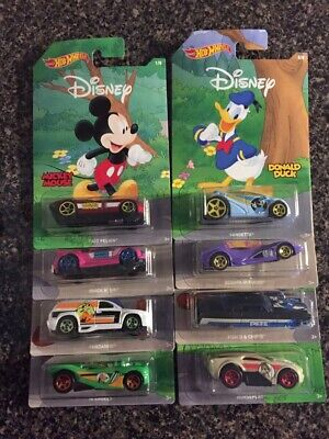 HOT WHEELS Walt Disney 90th Anniversary Mickey and Friends, Set of 8