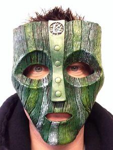 Resin Loki Mask Deluxe Jim Carrey The Mask Halloween Fancy Dress Costume