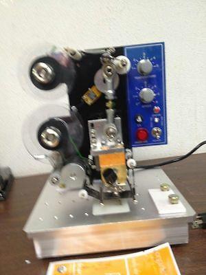 Hp-241b Semi-auto Electric Hot Stamp Ribbon Coding Printer Machine