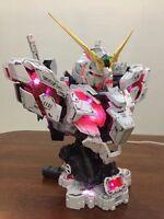 Unicorn Head Bust Plastic Model Kit Gundam 1/35 With Led Nuovo -  - ebay.it