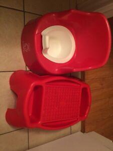 Potty trainer + step stool