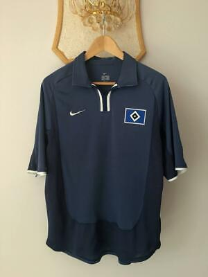 HAMBURG GERMANY 2002 2003 AWAY FOOTBALL SOCCER SHIRT JERSEY NIKE VINTAGE TRIKOT  image