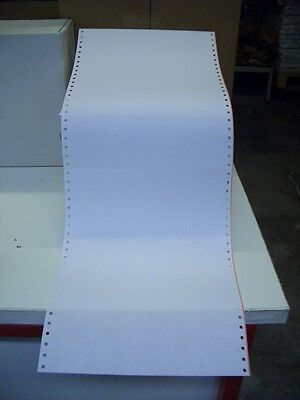 "2000 Blatt Endlospapier A4 12"" x 240 mm, 60g 1-fach Computerpapier"