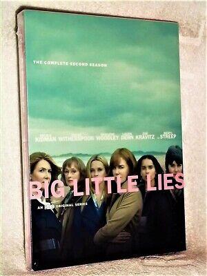 Big Little Lies Season 2 (DVD, 2019) NEW Nicole Kidman Reese Witherspoon