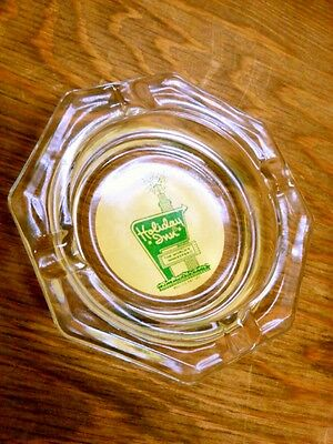 Vintage Holiday Inn  The Worlds Innkeeper  Hotel Room Glass Ash Tray Usa