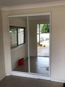 Double Mirrored Wardrobe Copacabana Gosford Area Preview