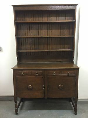 Victorian Original Oak Dresser Great Proportions
