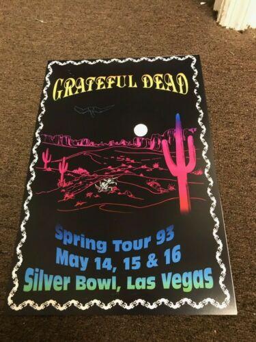 """Grateful Dead 1993 Spring Tour Las Vegas Concert Poster 12"""" x 18"""""""