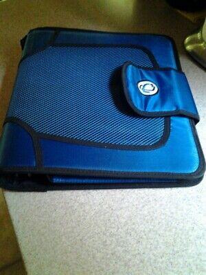 Case-it Binder Blue 5-tab File Folders 2 3-ring School Couponing