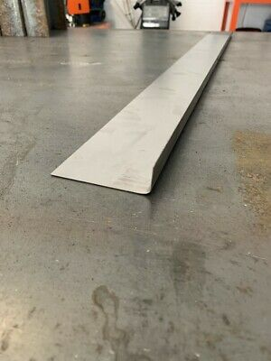1mm sill repair patch. Ideal for car mot failures folded metal steel 20 x 80