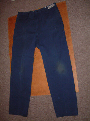 Aramark Work Pants  36X33  36 Waist  32 Inseam  Navy Blue