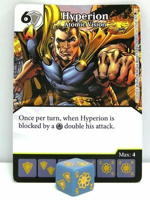 Dice Masters - #115 Hyperion Atomic Vision - Age of Ultron