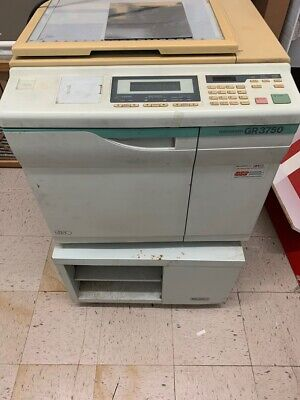 Risograph Gr 3750 Machine Plus 2 Ink Drums