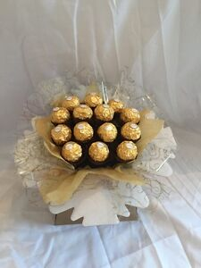 Ferrero Rocher Chocolate Bouquet Sweet Hamper Tree Explosion Perfect Gift
