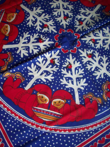 Scandinavian Christmas elf Tomes tablecloth