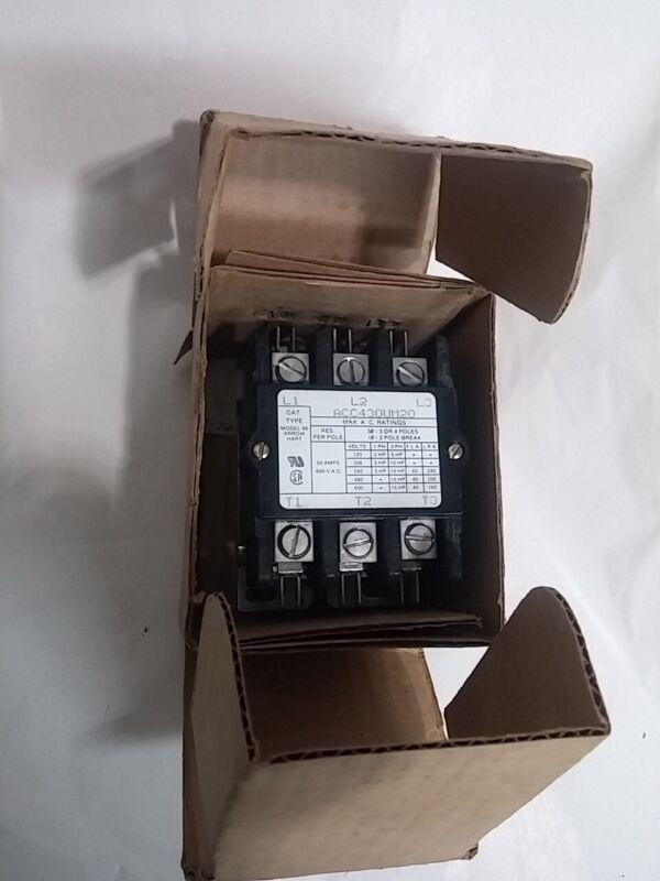 Arrow Hart Controls ACC430UM20 Magnetic Contactor