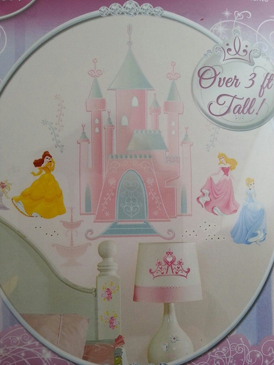 Disney Princess Giant Peel and Stick Wall Decal