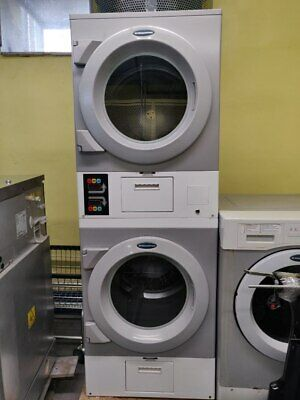 Daws2edc Commercial Laundromat Wascomat Crossover Stack Electric Dryer Used