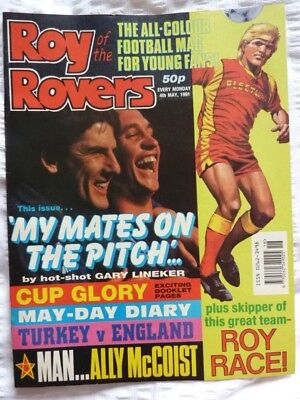 Roy of the Rovers Comic 04 05 1991 Exc Condition