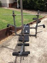Weight bench with bar & weights Manly West Brisbane South East Preview