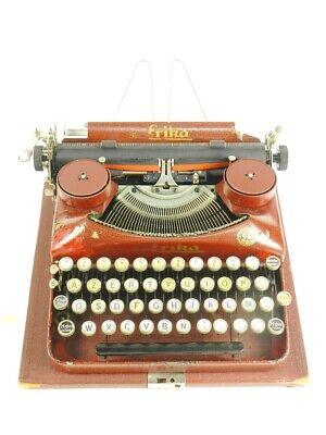 MAQUINA DE ESCRIBIR ERIKA ROJA Mod. 5 AÑO 1931 TYPEWRITER SCHREIBMASCHINE