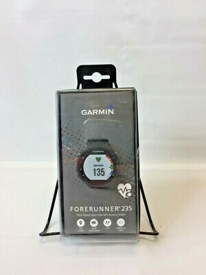 Garmin - Forerunner 235 Connect IQ- GPS Running Watch - Black/Gray