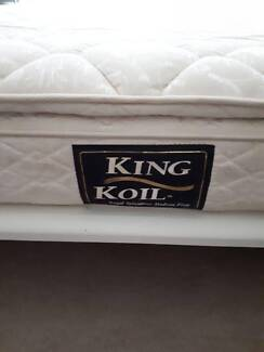 Pillow Top King Koil King Size Mattress with free local delivery