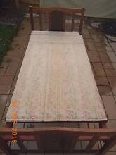 Vintage timber folding single bed with mattress Glen Waverley Monash Area Preview