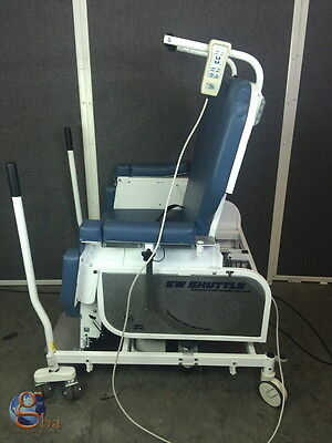 Sizewise Bariatric Transitional Transport Positioning Chair Table Sw Shuttle