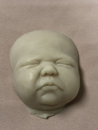 Sleeping Silicone Face Only by Jade Warner Unpainted for Practice