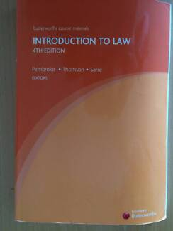 Introduction to Law - 4th Edition