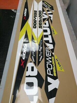 "extreme horsepower Warning No Bra Self Sticker Decal 2 PACK 5/"" Jet Ski"